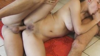 Elegant young Elena A with large tits works hard boner in her premium love tunnel
