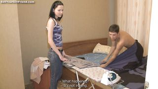 Worshipped blond Katy receives a rough doggystyle plowing