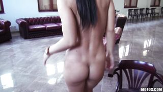 Magnificent Athina Love is getting drilled from the back