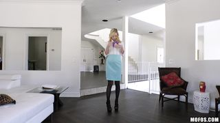 Mischievous Zoe Parker has a enchanting and delicate fuck with her pal