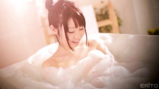 Passionate barely legal Aika Yumeno with great tits is deepthroating in various places and enjoying it a lot