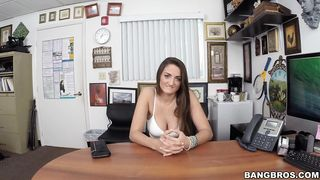 Nasty Tiffany Wells with big natural tits and mate are eager to fuck each other like crazy
